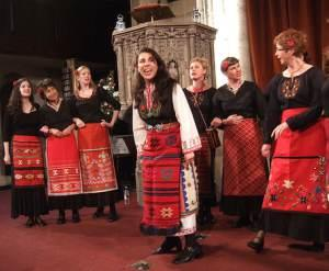 The London Bulgarian choir